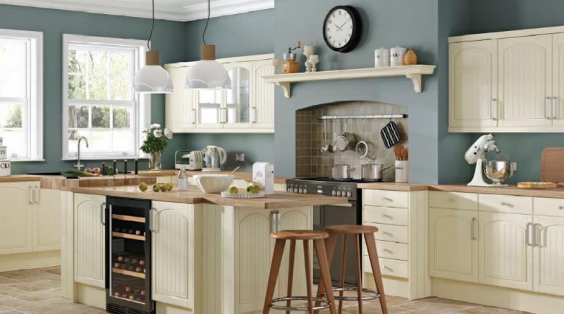cottage cream colonial kitchens colchester essex